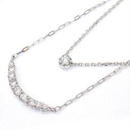JEWELRY Jewelry Diamond Necklace Clear K18WG (750) White Gold x Diamond