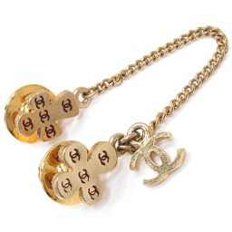 CHANEL Chanel Brooch 03A Gold GP [Used] [Rank A] Men