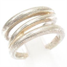 TIFFANY&CO ティファニー ダイアゴナルリング 指輪 シルバー シルバー(925) 【中古】【ランクB】