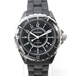 CHANEL シャネル J12 腕時計 ウォッチ H0684 ブラック セラミックxラバー 【中古】【ランクB】