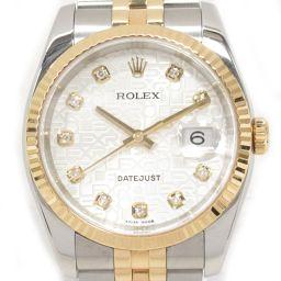 ROLEX ロレックス デイトジャスト 腕時計 ウォッチ 116233G シルバー ステンレススチール(SS) x