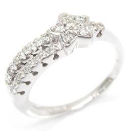 JEWELRY ジュエリー ダイヤモンドリング 指輪 クリアー K18WG(750) ホワイトゴールド xダイヤモ