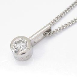 JEWELRY ジュエリー ダイヤモンドネックレス クリアー PT900 プラチナ xPT850(プラチナ)xダイ