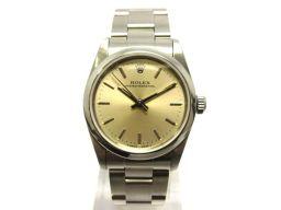 ROLEX ロレックス オイスター パーペチュアル ウォッチ 腕時計 67480 シルバー ステンレススチール(S