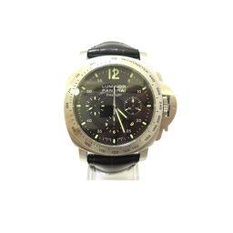 PANERAI パネライ ルミノール マリーナデイライト ウォッチ 腕時計 PAM00250 シルバー ステンレス