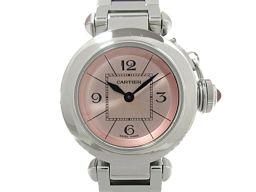 Cartier カルティエ ミス パシャ 腕時計 ウォッチ W3140008 ピンク ステンレススチール(SS)