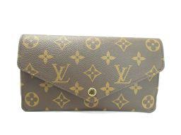 LOUIS VUITTON ルイヴィトン ポルトフオイユ・ジャンヌ 二つ折長財布 M62155 モノグラム×フュー