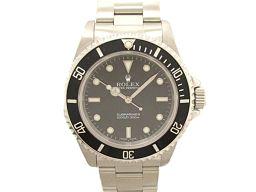 ROLEX ロレックス サブマリーナ・ノンデイト 腕時計 ウォッチ 14060M ブラック ステンレススチール(S