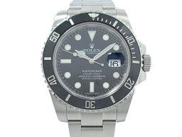 ROLEX ロレックス サブマリーナ 腕時計 ウォッチ 116610LN ブラック ステンレススチール(SS) 【