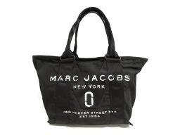MARC JACOBS マーク・ジェイコブス ニューロゴ スモール トートバッグ M0010807 ブラック ナイ