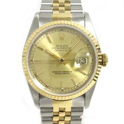 ROLEX ロレックス デイトジャスト 腕時計 ウォッチ メンズ  16233 シルバー K18YG(750)イエ