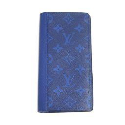 LOUIS VUITTON ルイヴィトン ポルトフォイユ・ブラザ 二つ折り長財布 M30297 コバルト タイガラ