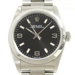 ROLEX ロレックス オイスター パーペチュアル 腕時計 ウォッチ ユニセックス 77080 シルバー ステンレ