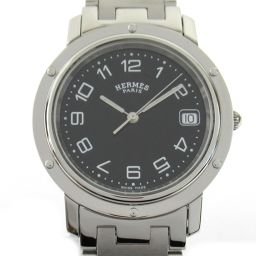 HERMES Hermes Clipper Watch Watch CL6.710 Silver Stainless Steel (SS) [Used