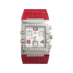 OMEGA オメガ コンステレーション クアドラ 腕時計 レディース ウォッチ 1847.73.31 ホワイト ス