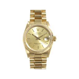 ROLEX ロレックス デイトジャスト 腕時計 ボーイズ ウォッチ 68278 ゴールド K18YG(750)イエ