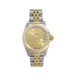 ROLEX ロレックス デイトジャスト 腕時計 レディース ウォッチ 69173 ゴールド K18YG(750)イ