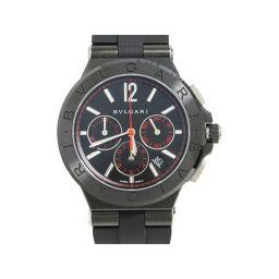 BVLGARI ブルガリ ディアゴノ ウルトラネロ クロノグラフ 腕時計 メンズ ウォッチ DG 42 BSC C
