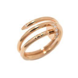 Cartier カルティエ ジュスト アン クル リング 指輪 B4210800 クリアー K18PG(750)
