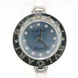 BVLGARI ブルガリ B-zero1 12Pダイヤモンド ビーゼロワン ウォッチ 腕時計 BZ22S ブルー