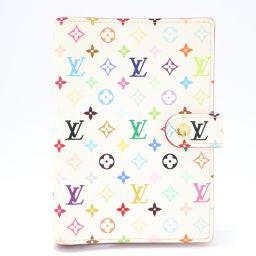 LOUIS VUITTON ルイヴィトン アジェンダPM 手帳 R21074 ホワイト x モノグラム x マルチ