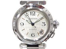 Cartier カルティエ パシャC メリディアン ウォッチ 腕時計 シルバー ステンレススチール(SS) 【中古