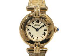 Cartier カルティエ マストコリゼ ウォッチ 腕時計 ゴールド GP×レザー 【中古】【ランクB】 レディー