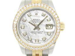 ROLEX ロレックス デイトジャスト ウォッチ 時計 179383G シルバー K18YG(750)イエローゴー