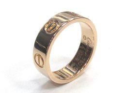 Cartier カルティエ ラブリング 指輪 ゴールド K18PG(750) ピンクゴールド 【中古】【ランクA】