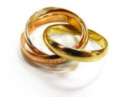 Cartier カルティエ トリニティリング   指輪 ゴールド K18YG(750) イエローゴールド K18W