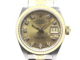 ROLEX ロレックス デイトジャスト 10Pダイヤモンド ウォッチ 腕時計 69173G シルバー ステンレスス