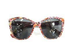 Dolce & Gabbana ドルチェ&ガッバーナ サングラス レッド×オレンジ×ピンク プラスチック 【中古】