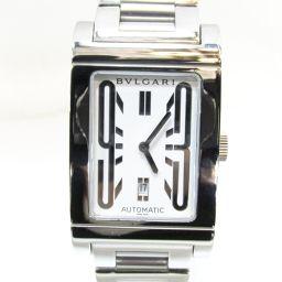 BVLGARI ブルガリ レッタンゴロ 腕時計 ウォッチ RT45S シルバー ステンレススチール(SS) 【中古