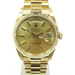 ROLEX ロレックス デイデイト ウォッチ 腕時計 18038 18038 ゴールド K18YG(750)イエロ