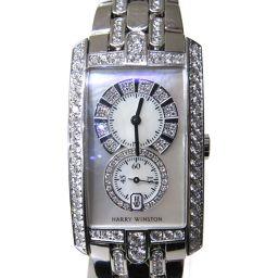 HARRY WINSTON Harry Winston Avenue C Midsize Watch Watch Silver K18WG