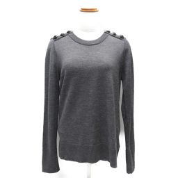 BURBERRY Burberry Knit Gray Wool [Used] [Rank A] Ladies