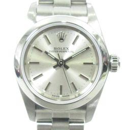 ROLEX ロレックス オイスター パーペチュアル 腕時計 ウォッチ レディース 76080 シルバー ステンレス