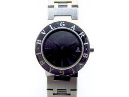 BVLGARI ブルガリ ブルガリ ブルガリ 腕時計 ウォッチ BB23SS ブラック ステンレススチール(SS)