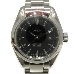 OMEGA オメガ シーマスター アクアテラ ウォッチ 腕時計 2577.50 シルバー ステンレススチール(SS