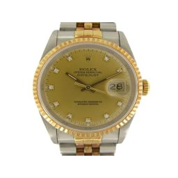 ROLEX ロレックス デイトジャスト 腕時計 ウォッチ 16233G ゴールド ステンレススチール(SS) ×K