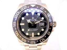ROLEX ロレックス GMTマスター2 腕時計 ウォッチ 116710LN ランダム番 シルバー ステンレススチ