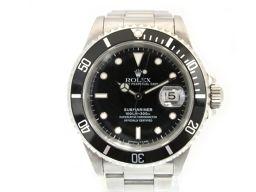 ROLEX ロレックス サブマリーナ・デイト ウォッチ 腕時計 メンズ 16610/93年 シルバー ステンレスス