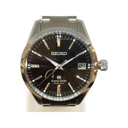 SEIKO セイコー スプリングドライブ 腕時計 ウォッチ ブラック ステンレススチール(SS) 【中古】【ランク