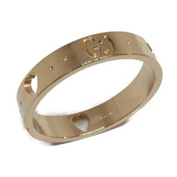 GUCCI グッチ ジュエリー アイコンリング 指輪 ゴールド K18PG(750) ピンクゴールド 【中古】【ラ