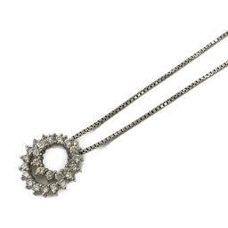 JEWELRY Jewelery Jewelry Diamond Necklace Clear PT900 Platinum x Diamond (