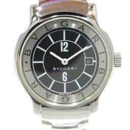 BVLGARI ブルガリ ソロテンポ ウォッチ 腕時計 ST295 シルバー ステンレススチール(SS) 【中古】