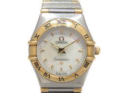 OMEGA オメガ コンステレーション ミニ ウォッチ 腕時計 シルバー ステンレススチール(SS) イエローゴー