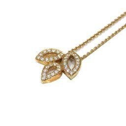 HARRY WINSTON ハリーウィンストン リリークラスター ダイヤモンドネックレス 223722 ゴールド