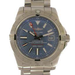 BREITLING ブライトリング アベンジャー2 GMT 日本限定 腕時計 ウォッチ A32390 シルバー ス