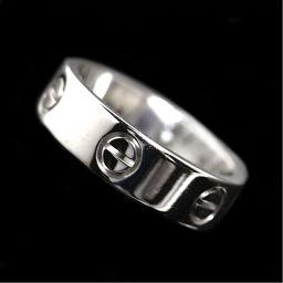 カルティエ Cartier LOVE リング B4084756 K18WG メンズ 指輪 ジュエリー